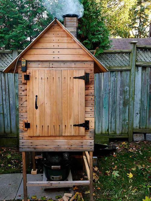 DIY Smokehouse Plans