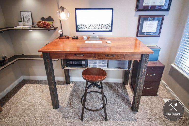 diy standing desk mod
