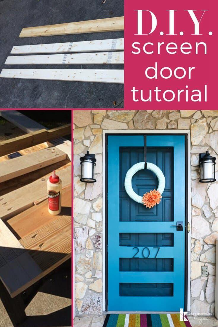 10. DIY Screen Door Tutorial