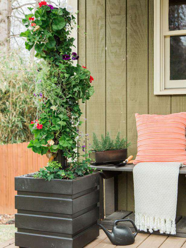 10. How To Make A Vertical Garden From PVC Pipe