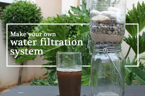 11. DIY Water Filtration System