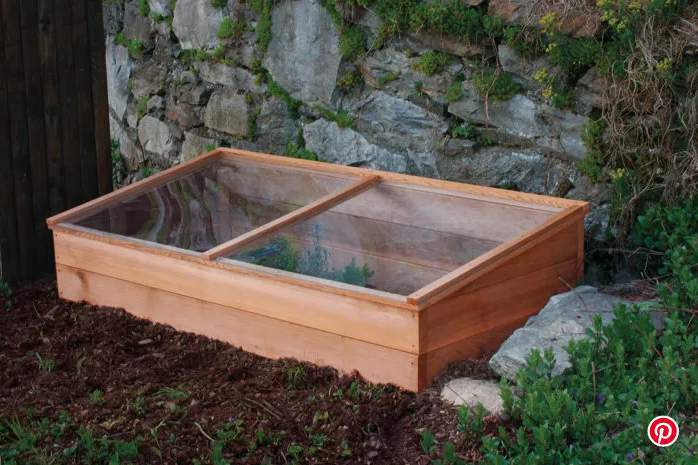 12. Easy To Build Cold Frame