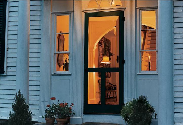 12. Homemade Screen Door Plans