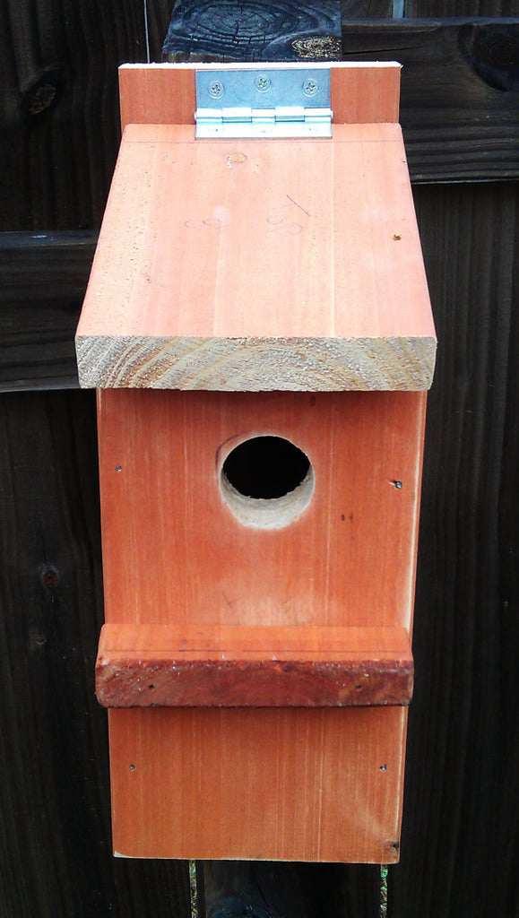 13. DIY Bluebird House
