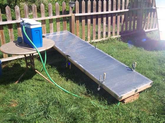 13. DIY Simple Solar Water Heater