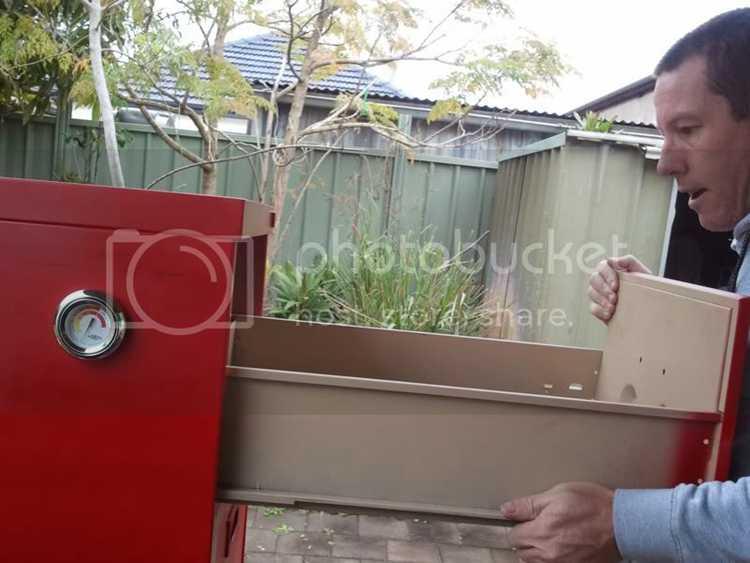 13. Filing Cabinet Smoker Build