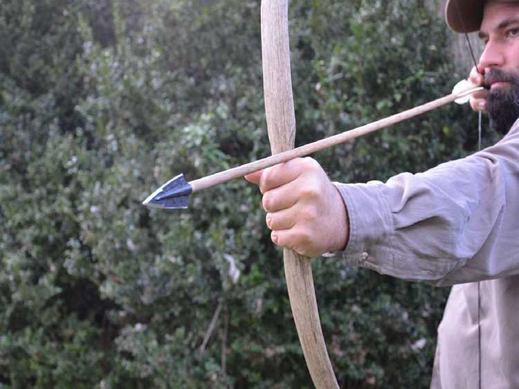 14. DIY Bow And Arrow For Survival