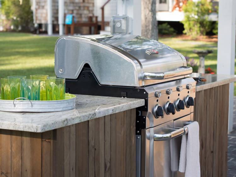 14. How To Build A Grilling Island