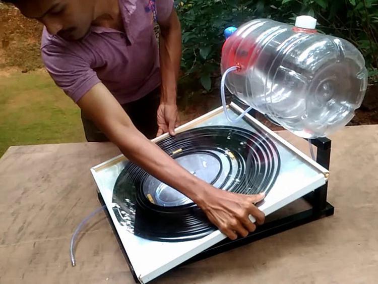 14. Solar Water Heater DIY Tutorial