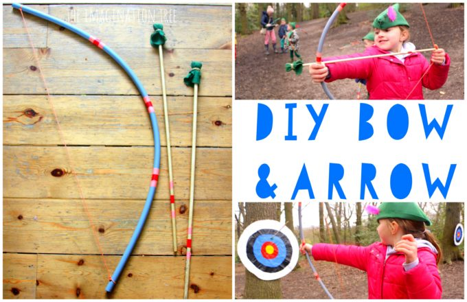 15. DIY Bow And Arrow For Kids