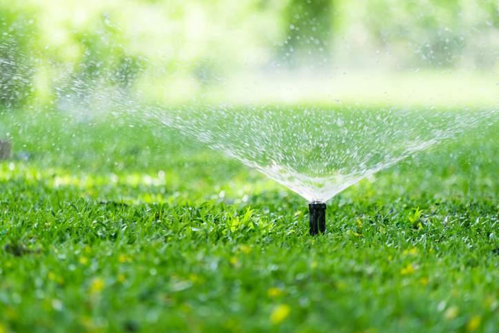 15. DIY Sprinkler System