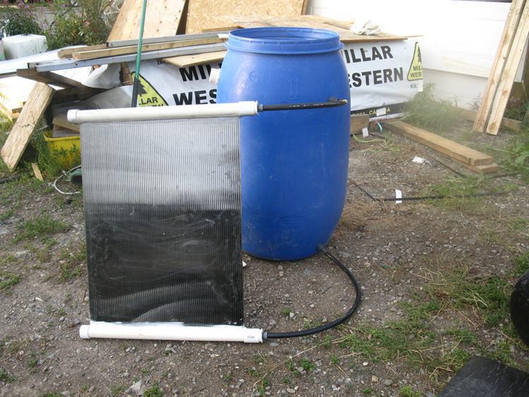 15. Passive Solar Water Heater