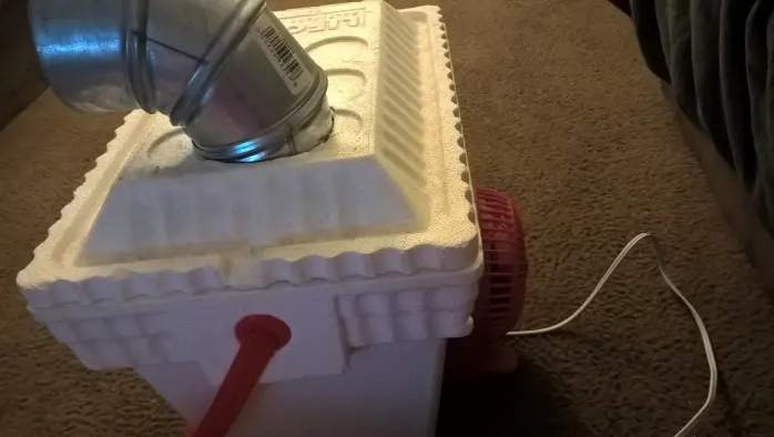 16. Homemade Air Conditioner