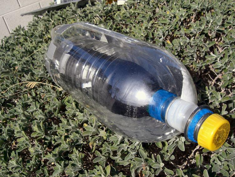 16. Solar Water Bottle Heater