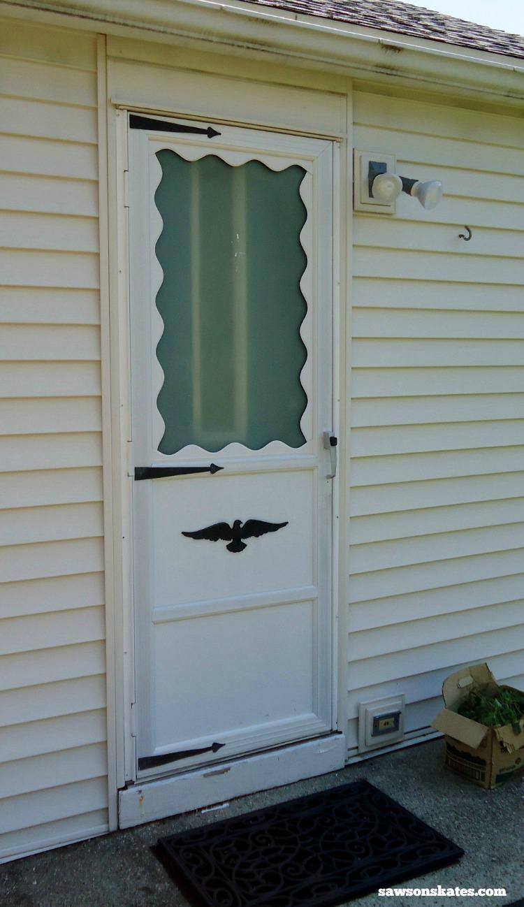 19. DIY Wood Screen Door
