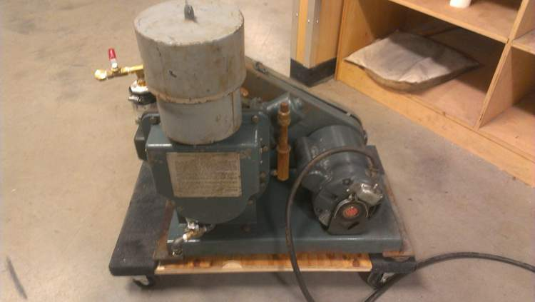 2. DIY Vacuum Pump