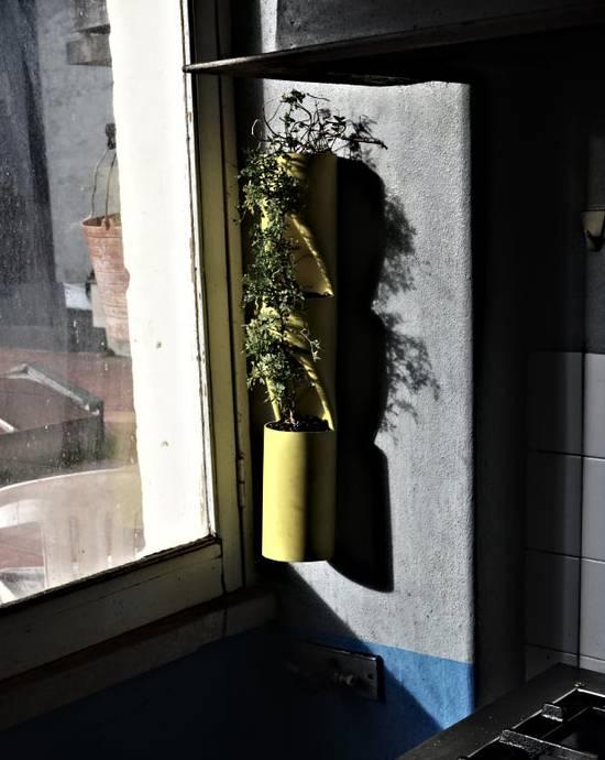 2. Portable Vertical PVC Garden