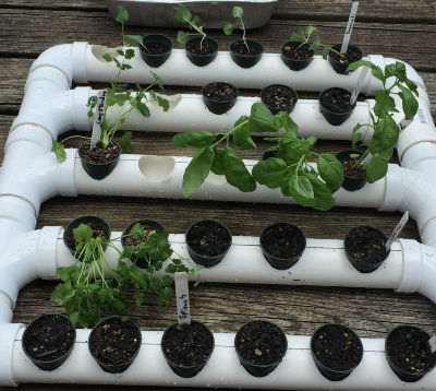 20. DIY PVC Pipe Planter