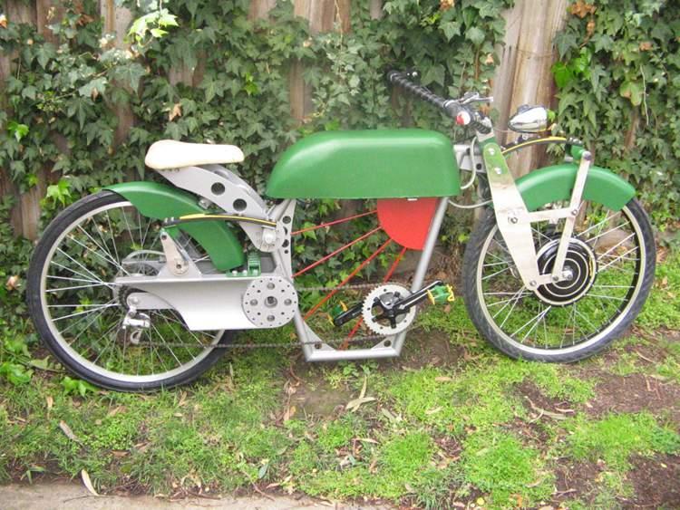 20. DIY Retro Electric Bike