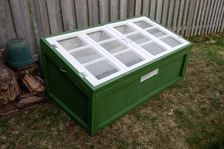 20. How To Build A Cold Frame From Old Windows