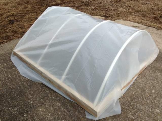 21. DIY Cold Frame Hoop House