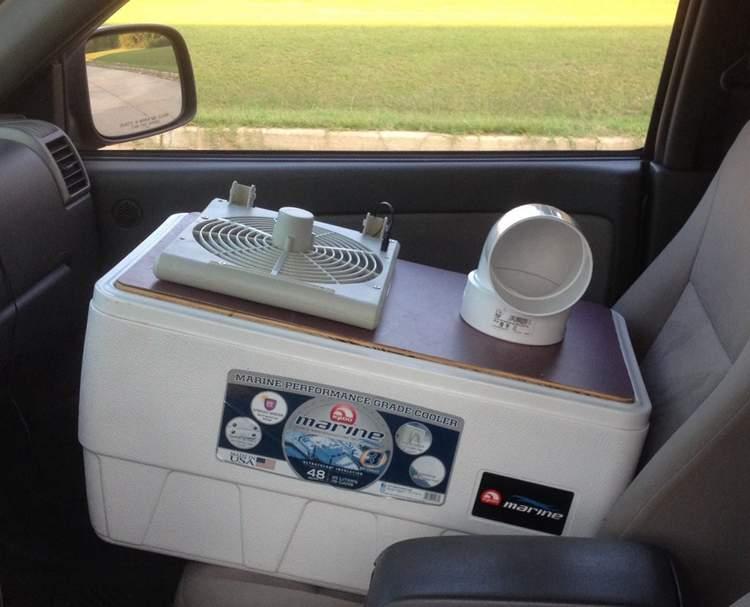21. Portable Air Conditioner DIY