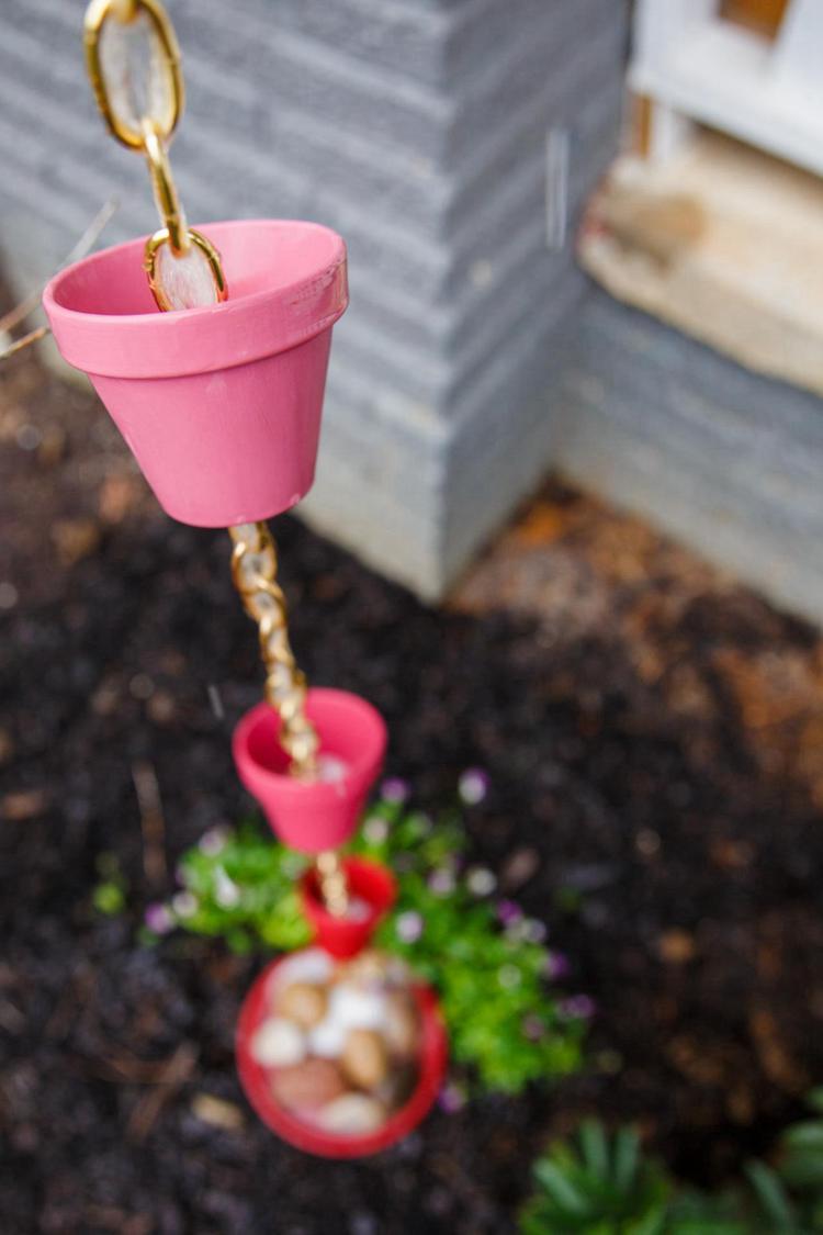22. DIY Simple Rain Chain