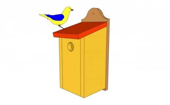 23. DIY Bluebird House Plans