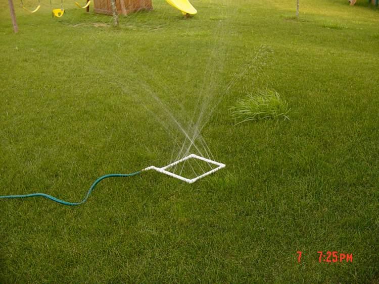 23. Homemade Water Sprinkler