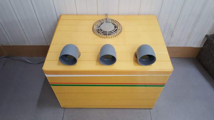 24. DIY Portable Air Conditioner