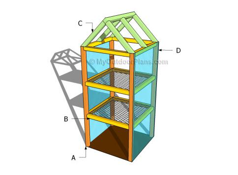 24. Mini Greenhouse Plan
