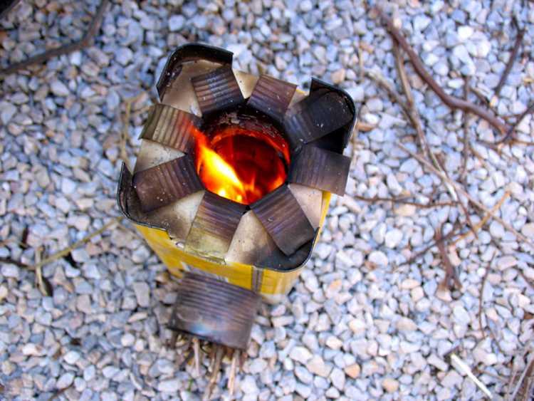 25. How To Make A Mini Rocket Stove