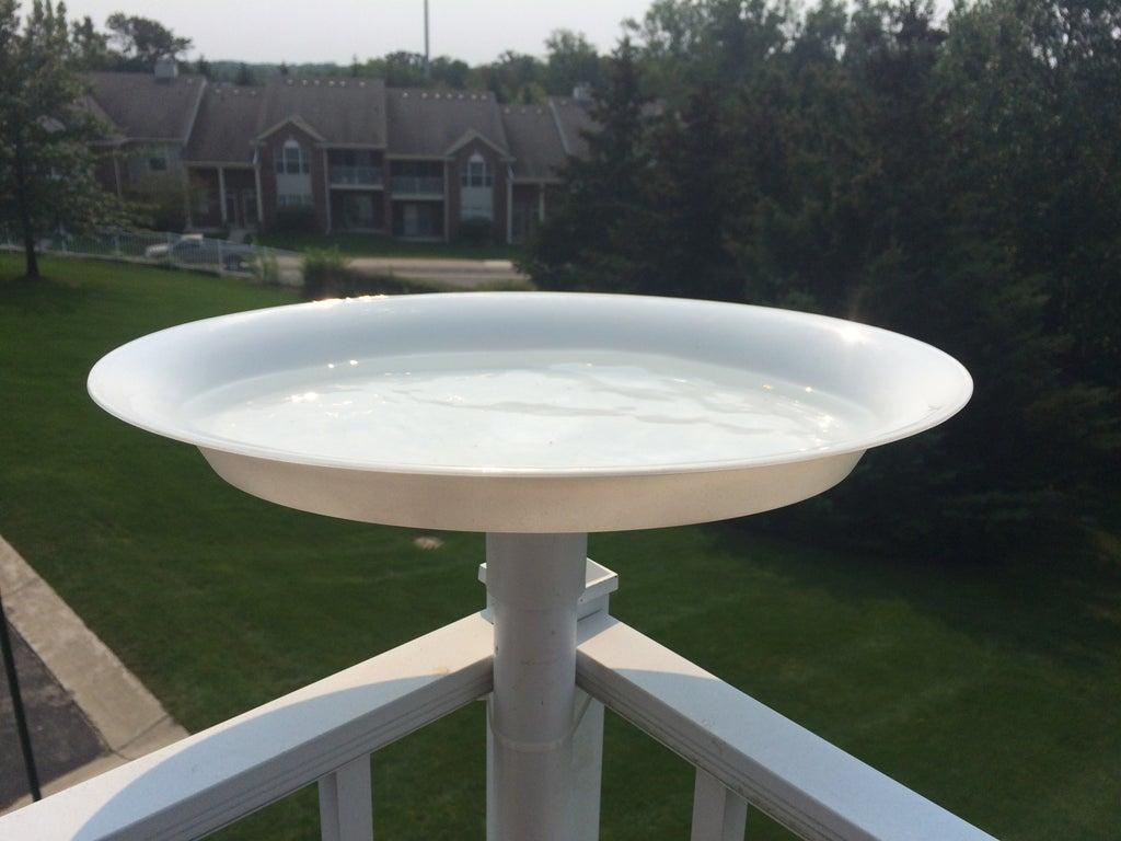 3. DIY PVC Bird Bath