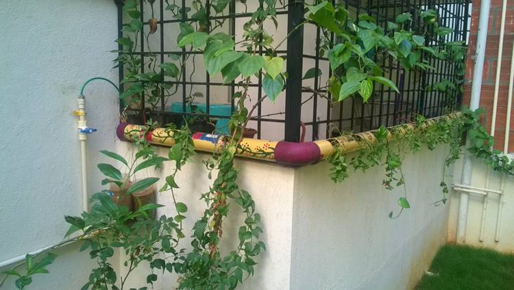 3. DIY PVC Planter