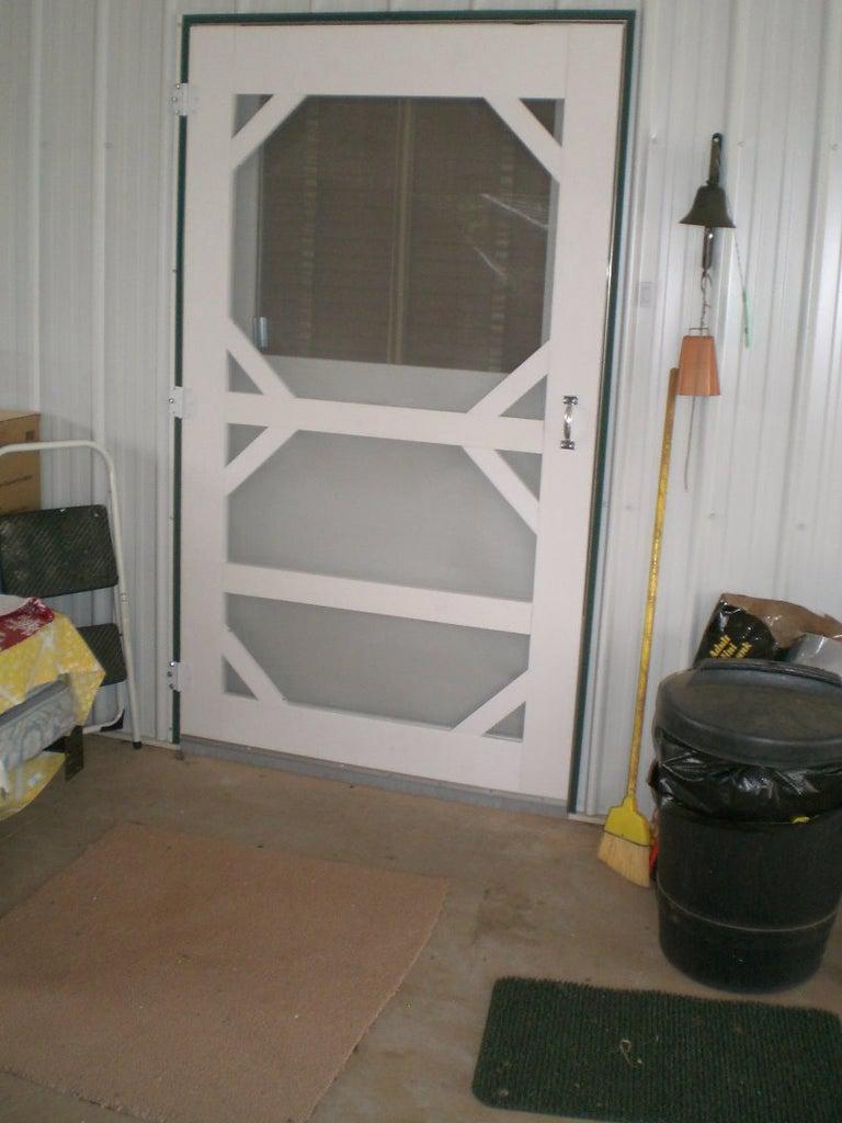 4. DIY Four Foot Screen Door