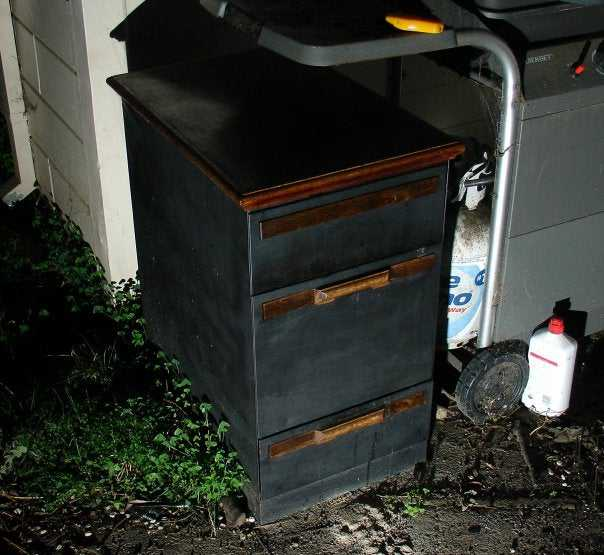 5. DIY Filing Cabinet Smoker