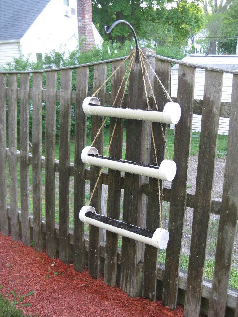 5. DIY Movable Hanging Herb Garden