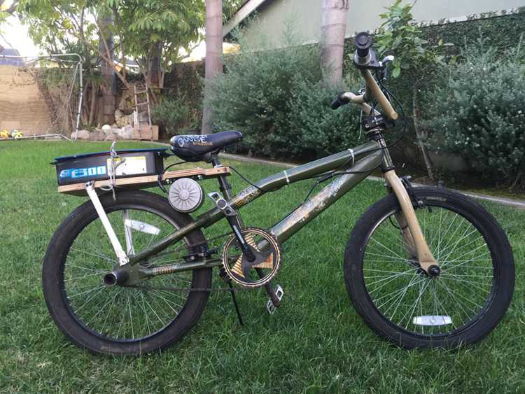5. Electric Bike DIY