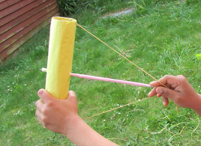 5. Homemade Bow And Arrow For Children
