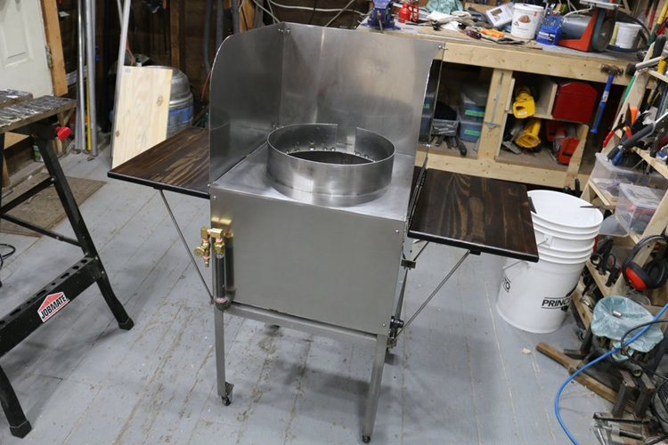 5. How To Make A Stainless Steel Grill Station