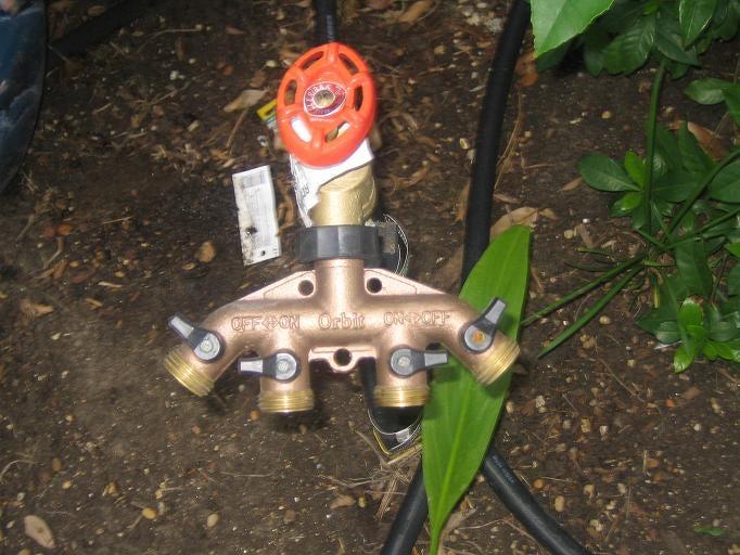 6. DIY Automated Sprinkler System