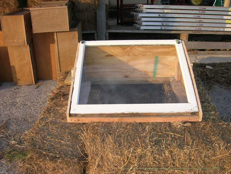 6. DIY Cold Frame (Insulated)