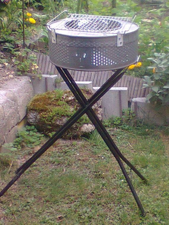 6. DIY Outdoor Grill Station