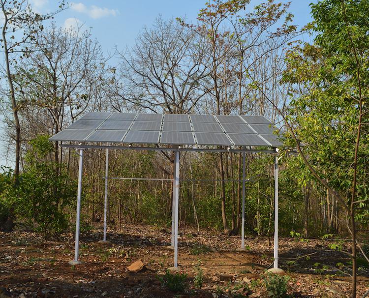 6. DIY Solar Water Pump