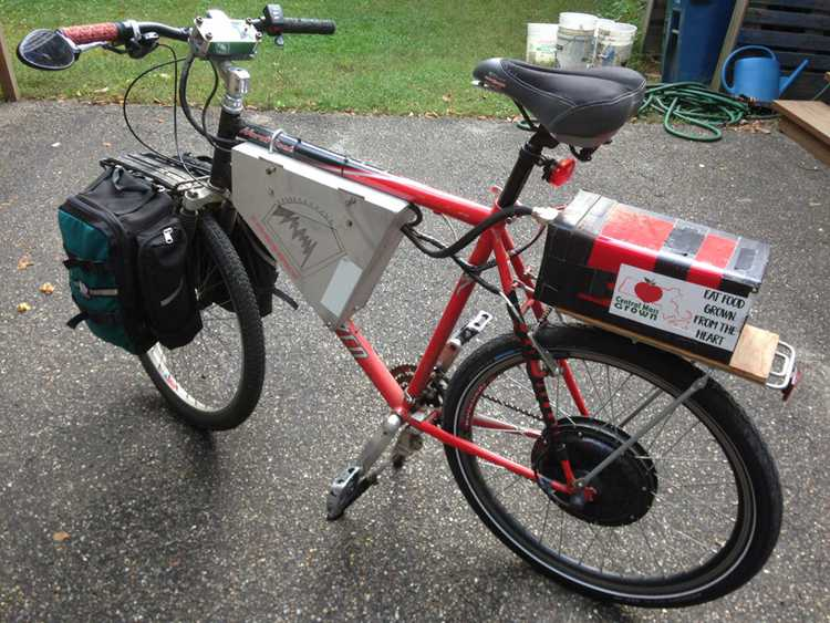 7. A Commuter's Electric Bike