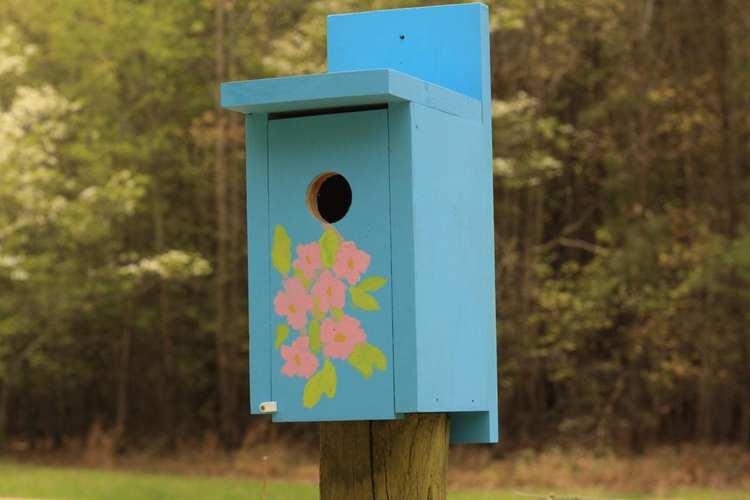7. DIY Bluebird House