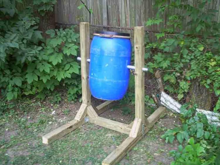 7. DIY Compost Tumbler Build