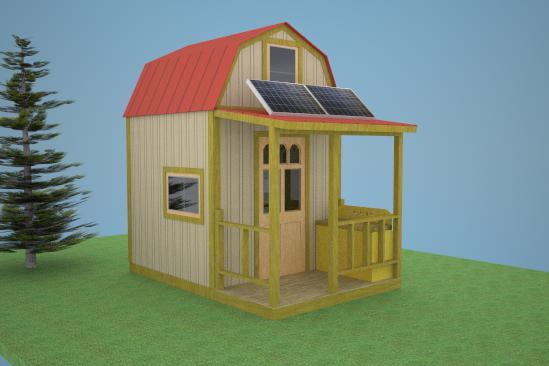7. Off-Grid Stealth Cabin Plans