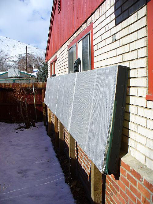 8. DIY Solar Air Heater Boxes