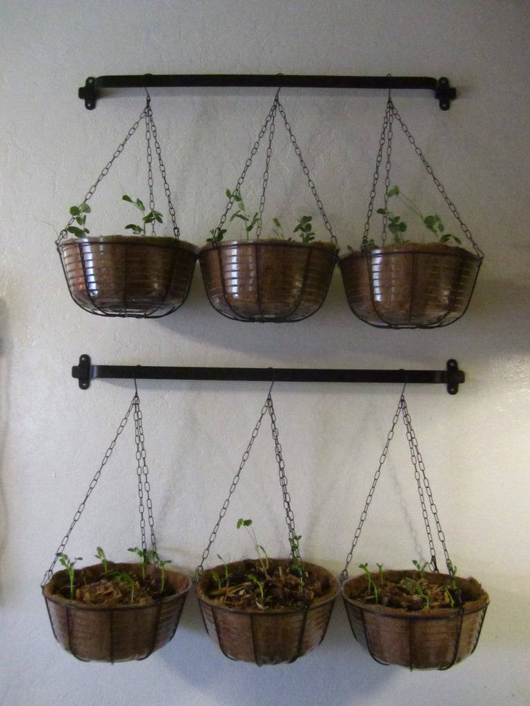 8. Hanging Vegetable Planters DIY